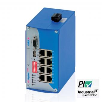 8 poort managed Ethernet/PROFINET switch, EL100-2MA